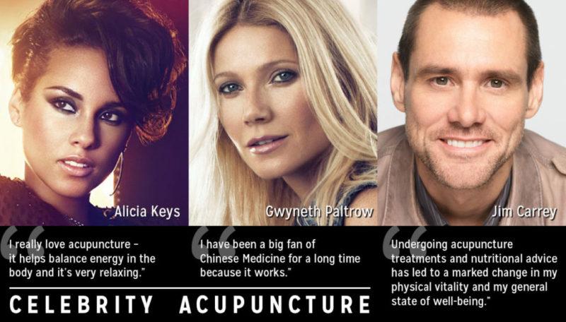 Celebrity Acupuncture
