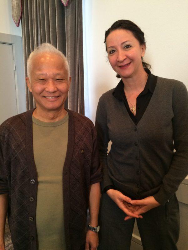 Dr. Tan and Gordana Smith
